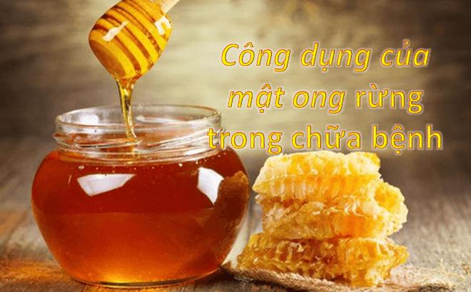 công dụng của mật ong trong chữa bệnh
