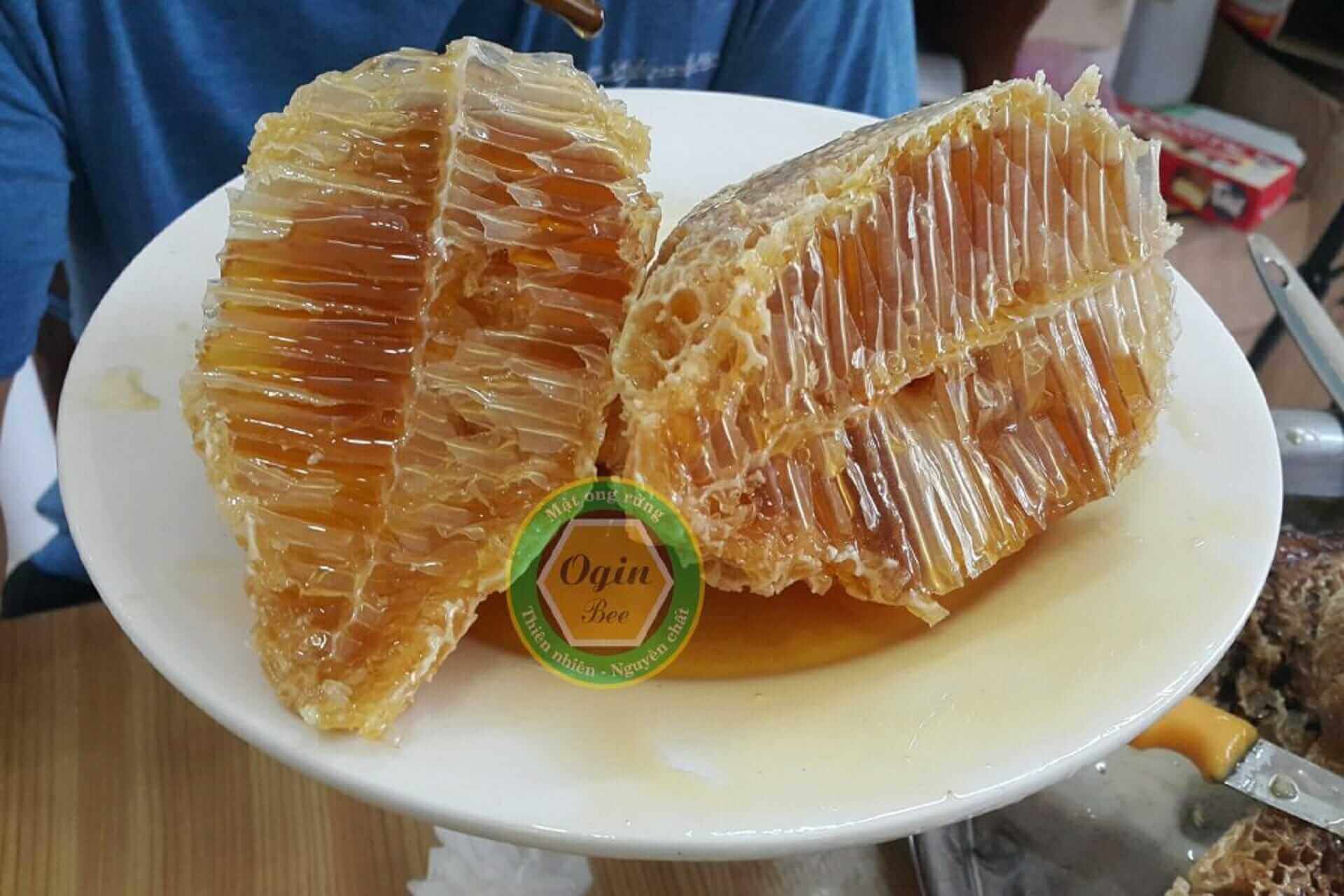 kháng sinh tự nhiên trong mật ong rừng nguyên chất