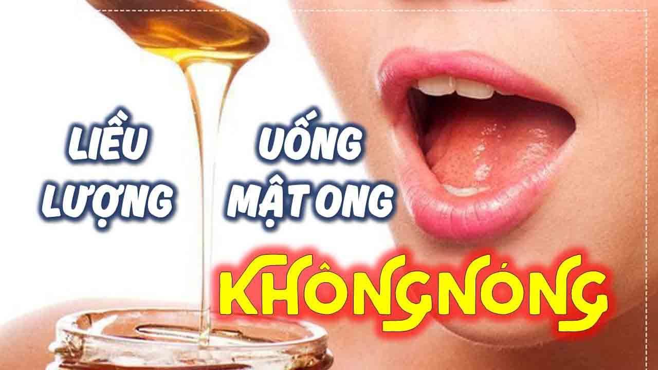 liều lượng dùng mật ong không bị nóng