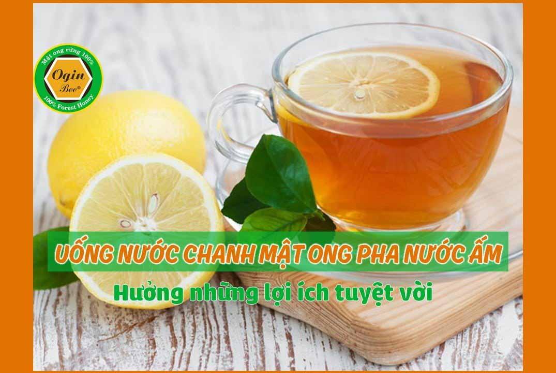 Uống nước chanh mật ong