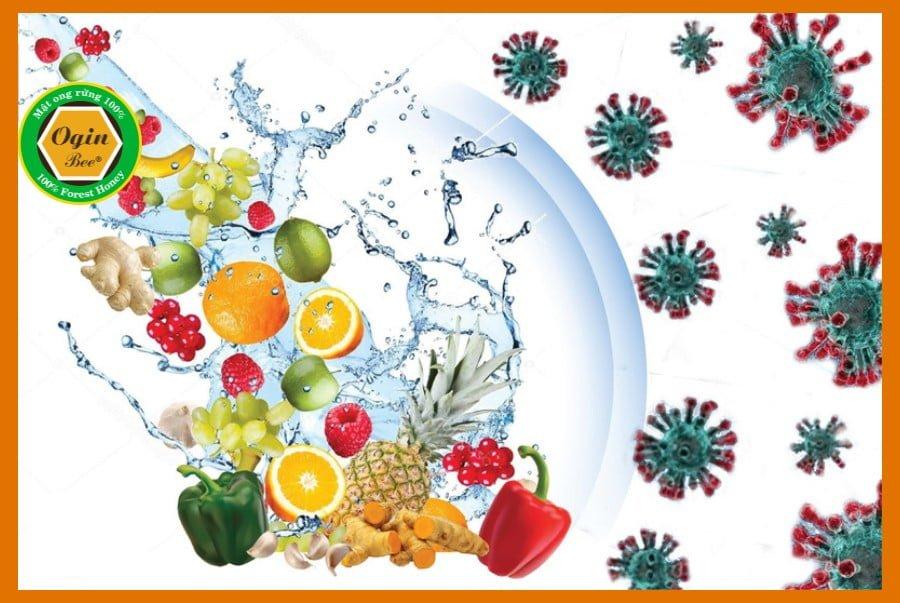 thực phẩm bổ sung vitamin giúp tăng cường hệ miễn dịch